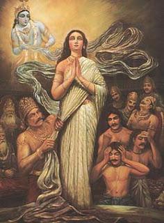 Goddess Kunti, India