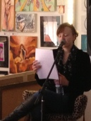 Sally Turner reading from her book 'Eve's Volcano' about her experiences of Vulvodynia. www.evesvolcano.com